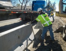 Concrete Barrier Boise & Ada Cos.